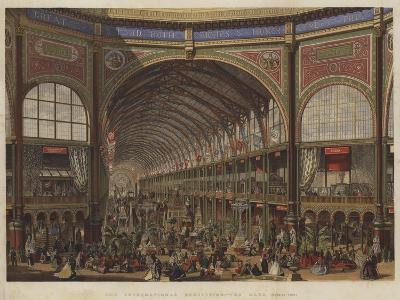 The International Exhibition, the Nave, Looking West--Giclee Print