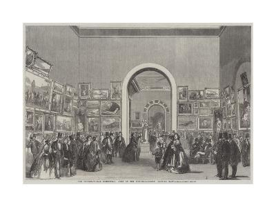 The International Exhibition, View of the Picture-Gallery, Looking East--Giclee Print