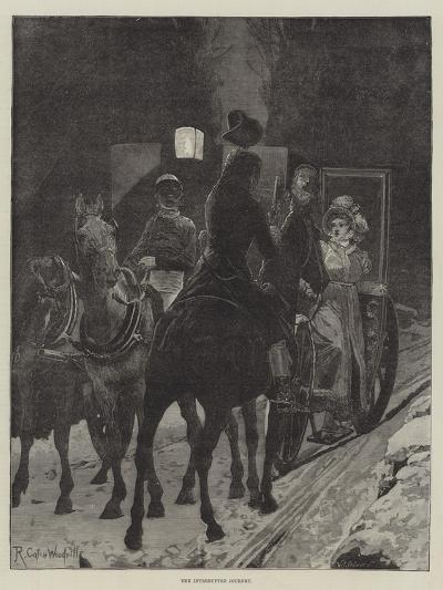 The Interrupted Journey-Richard Caton Woodville II-Giclee Print