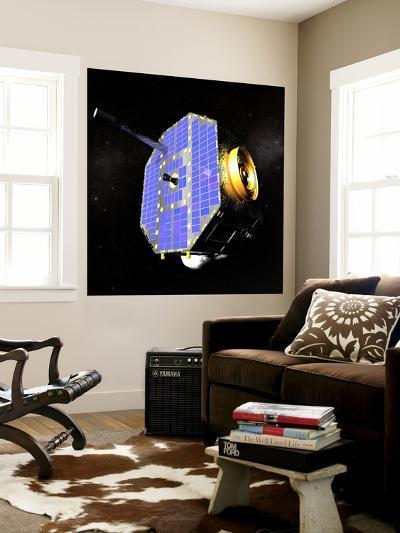 The Interstellar Boundary Explorer Satellite-Stocktrek Images-Wall Mural