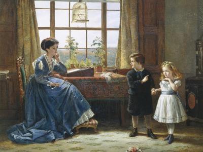 The Introduction-George Goodwin Kilburne-Giclee Print