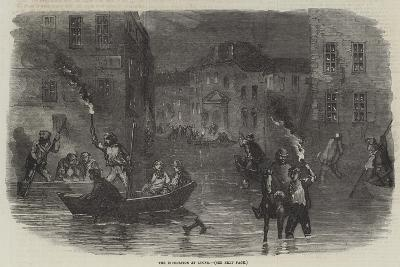 The Inundation at Lyons--Giclee Print