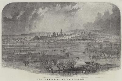 The Inundation at Oxford--Giclee Print