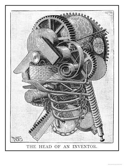 The Inventor--Giclee Print