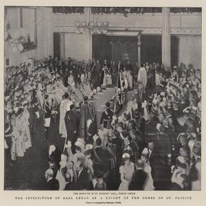 The Investiture of Earl Lucan as a Knight of the Order of St Patrick