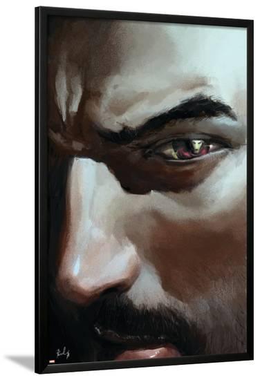 The Invincible Iron Man No.28 Cover: Stark and Tony--Lamina Framed Poster