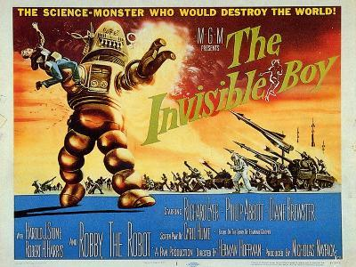 The Invisible Boy, 1957--Art Print