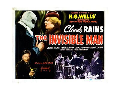 The Invisible Man, 1933--Giclee Print