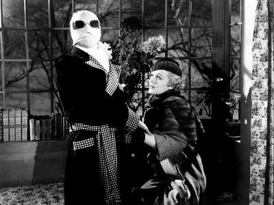 The Invisible Man, Claude Rains, Gloria Stuart, 1933--Photo
