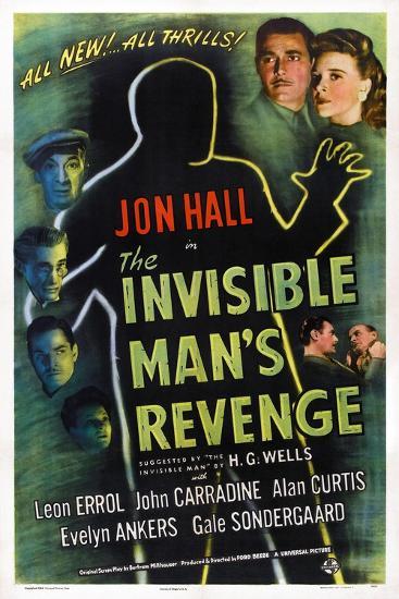 The Invisible Man's Revenge--Art Print