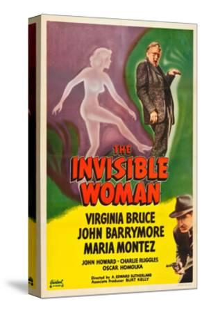 The Invisible Woman, John Barrymore, John Howard, 1940