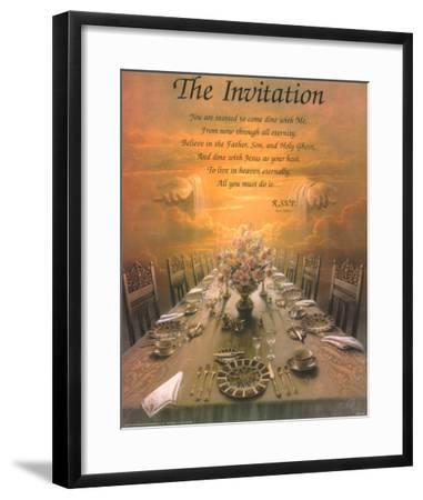 The Invitation-Danny Hahlbohm-Framed Art Print