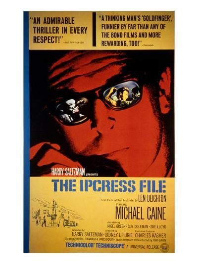 The Ipcress File, Michael Caine, 1965--Photo