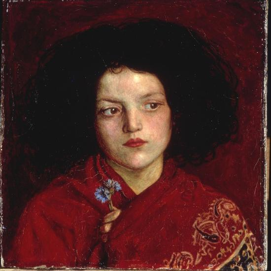 The Irish Girl, 1860 Giclee Print - Ford Madox Brown