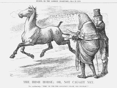 The Irish Horse; or Not Caught Yet, 1879-Joseph Swain-Giclee Print