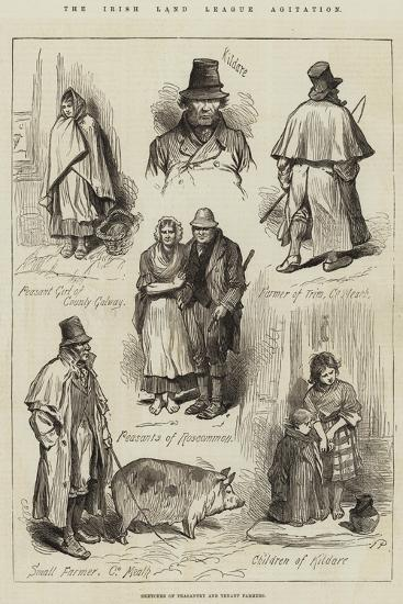 The Irish Land League Agitation--Giclee Print