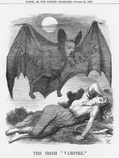 The Irish Vampire, 1885-Joseph Swain-Giclee Print