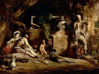 The Irish Whiskey Still, 1840-Sir David Wilkie-Giclee Print