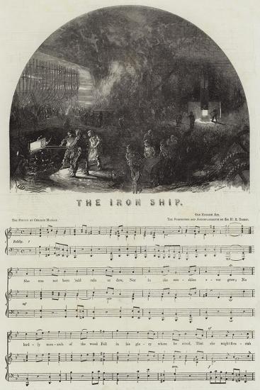 The Iron Ship--Giclee Print