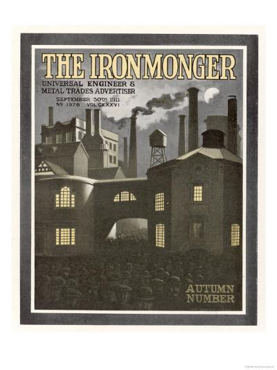 The Ironmonger Factory Exterior--Giclee Print