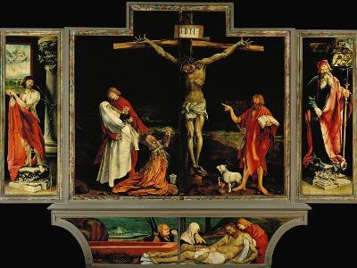 The Isenheim Altar, Closed, circa 1515-Matthias Gr?newald-Giclee Print