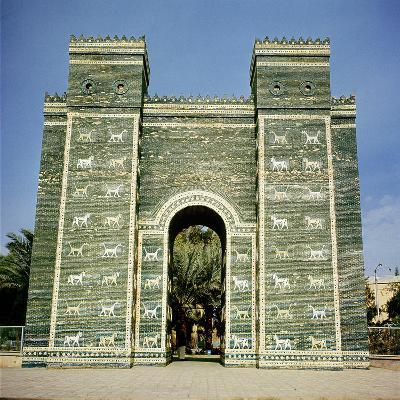 The Ishtar Gate, Babylonian, C.580 Bc--Photographic Print