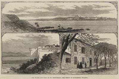 The Island and Fort of St Marguerite, the Prison of Ex-Marshal Bazaine--Giclee Print