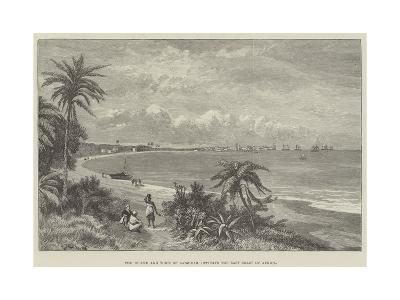 The Island and Town of Zanzibar, Opposite the East Coast of Africa--Giclee Print