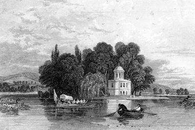 The Island, Henley-On-Thames, Oxfordshire, 1830--Giclee Print