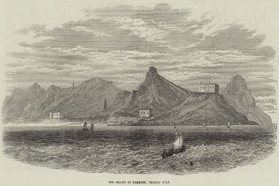 The Island of Karrack, Persian Gulf--Giclee Print