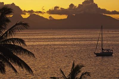 The Island of Mo'Orea as Seen from Tahiti-Mauricio Handler-Photographic Print