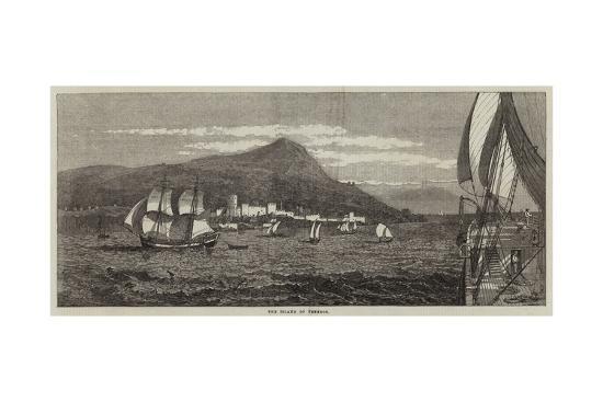 The Island of Tenedos--Giclee Print