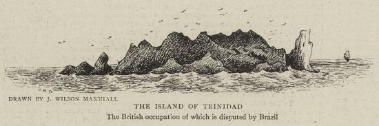 The Island of Trinidad--Giclee Print
