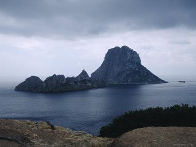 The Island of Vedra off the Coast of Ibiza, Balearic Islands, Spain-Tom Teegan-Photographic Print