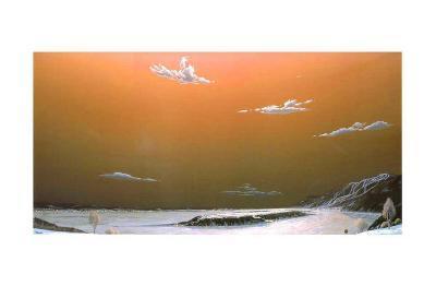 The Island's Hill-Guy Paquet-Art Print