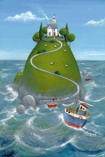 The Island-Peter Adderley-Art Print