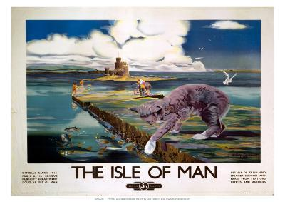 The Isle of Man, BR (LMR), c.1950-Anthony Brandt-Giclee Print