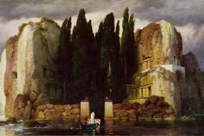 The Isle of the Dead, 1886-Arnold Bocklin-Giclee Print