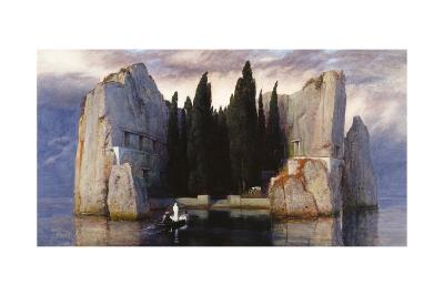 The Isle of the Dead-Arnold Bocklin-Giclee Print