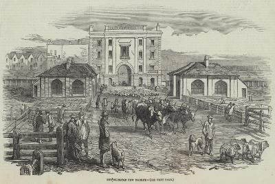 The Islington New Market--Giclee Print