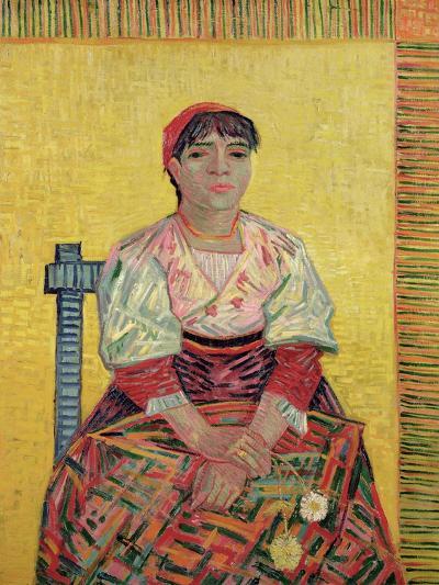 The Italian: Agostina Segatori, 1887-Vincent van Gogh-Giclee Print