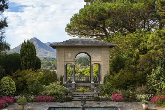 The Italian Garden at Garnish Island in Glengarriff, County Cork-Chris Hill-Photographic Print