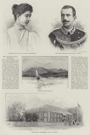 The Italian Royal Wedding--Giclee Print