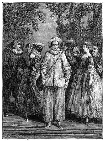 The Italian Theatre- Lancret-Giclee Print