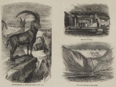 The Italian Valleys of the Pennine Alps--Giclee Print