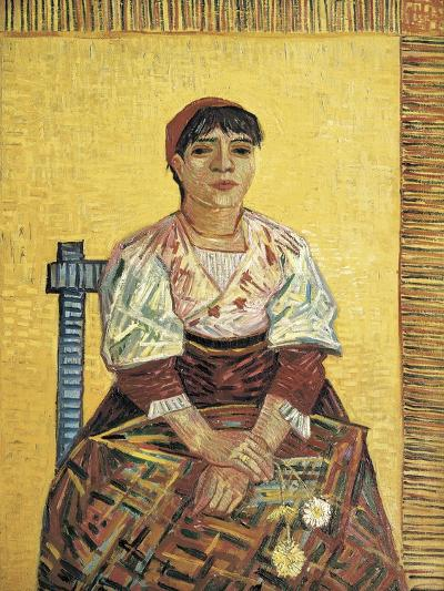 The Italian Woman-Vincent van Gogh-Art Print