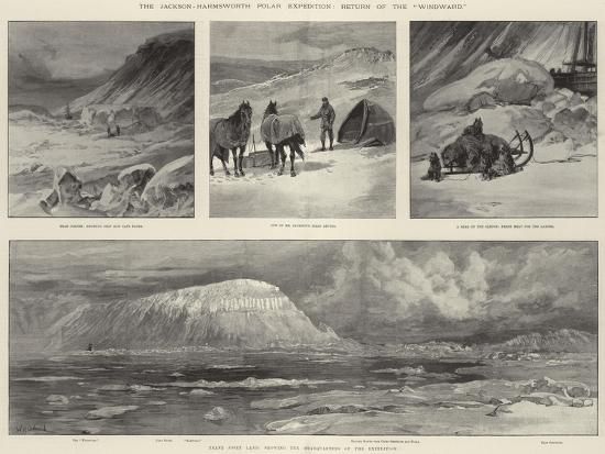 The Jackson-Harmsworth Polar Expedition, Return of the Windward-William Heysham Overend-Giclee Print