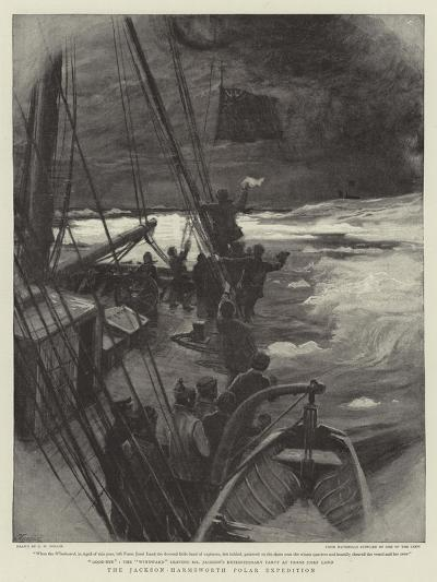The Jackson-Harmsworth Polar Expedition-Charles William Wyllie-Giclee Print