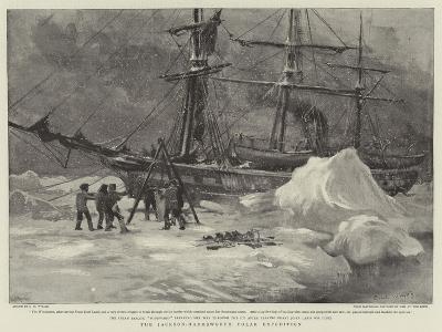 The Jackson-Harmsworth Polar Expedition-Charles William Wyllie-Giclee Print