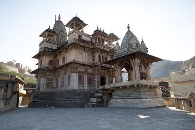 The Jagat Shiromani Hindu Temple, Dedicated to Shiva, Krishna and Meera Bhai-Annie Owen-Photographic Print